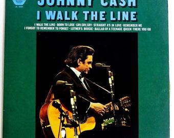 LP Johnny Cash I Walk The Line Hilltop JS 6097 Pickwick / 33