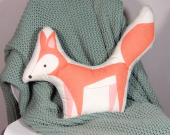 Fox Animal-Shaped Pillow