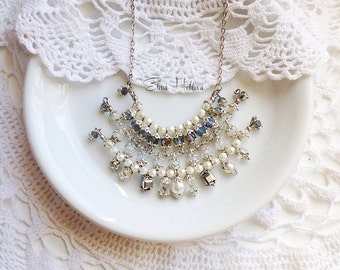 costume jewelry Bridal Wedding Dangle pendant Bridal Jewelry Bridesmaid Gift Wedding Jewelry