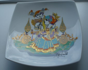 Rosenthal Germany, plate Commedia dell'arte, Björn Winblad, bowl, plate