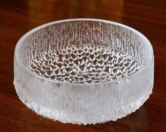 Iittala Ultima Thule Serving Bowl by Tapio Wirkkala Made in Finland