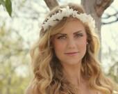 Custom for KATIE, Alice silk flower crown
