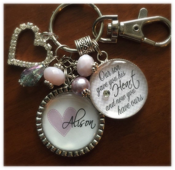 Unique Wedding Gifts For Son And Daughter In Law : Future DAUGHTER in LAW GIFT, personalized bride to be, Our son gave ...
