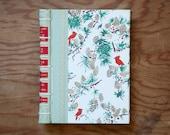 vintage hand made journal // hard bound journal