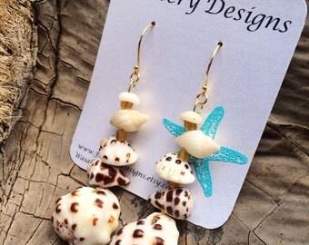 Hawaiian Shell Lover Earrings