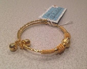 Children Gold Adjustable Bracelet