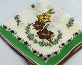 Vintage Hankie for Collectors,  Sewing, Crafting, Great Gift Idea   B-61