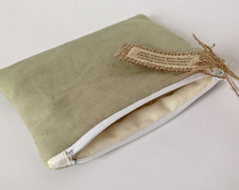 Naturally Dyed Coin Purse