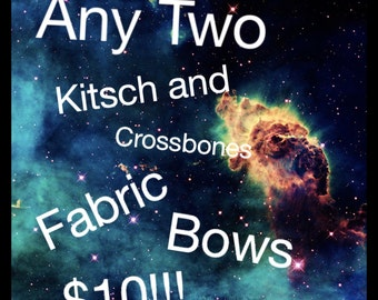 Any 2 Fabric Bows