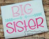 Big Sister Machine Embroidery Design