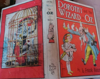 dorothy and the wizard of oz frank baum as is read me a bedtime story childs nursery wall candy frame  classic book from series