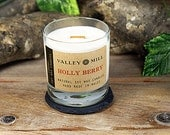 Holy Berry Soy Candle