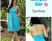 Crochet Pattern for Sundress, Tunic, Calypso Kiss, PDF 15-189 INSTANT DOWNLOAD