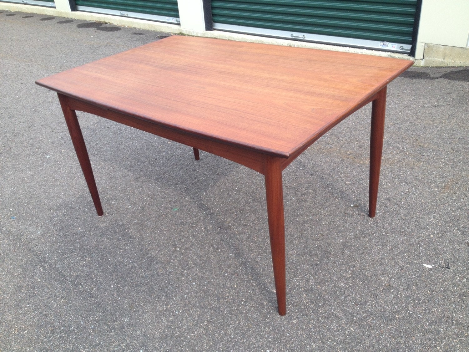 Mid Century Modern Danish Teak Dining Table Made In
