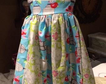 Baby girls birdie dress/12 months girls dress/ party dress