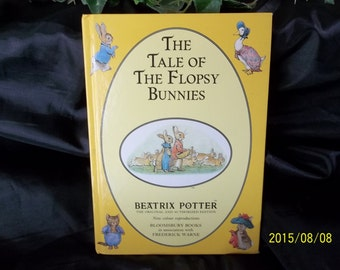 The Tale of The Flopsy Bunnies, Beatrix Potter, Hardcover 1993