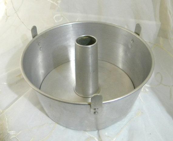 1950s Aluminum 10 Angel Food Cake Pan 4 1 4 Tube