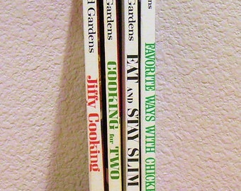 Better Homes and Gardens Cookbooks, choice of 4 1968-9