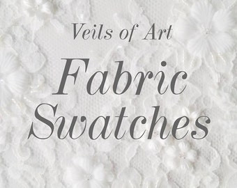 Bridal Veils Fabric Swatches