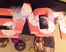 Wedding Letters Stand Alone Decorative