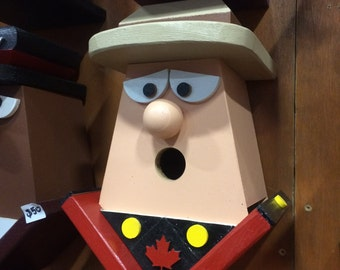 Canadian Royal Mounted Police Birdhouse