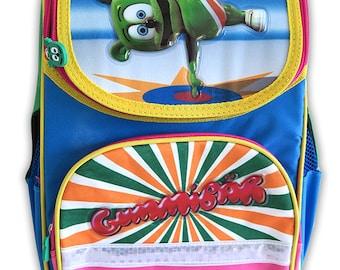 Gummibär The Gummy Bear Hard Shell Backpack ~ Back To School ~ Colorful Bright