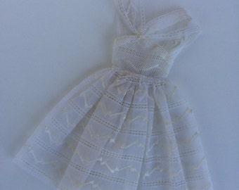 Vintage Original.. Orange Blossom Lace Overdress
