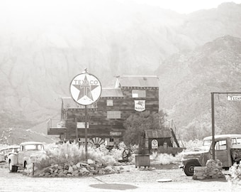 Ghost Town - photograph on gallery wrapped canvas