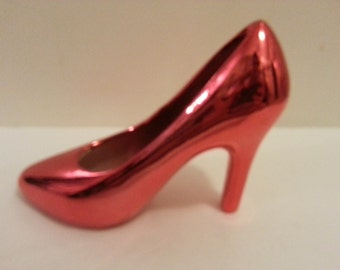 Red Shoe Figurine