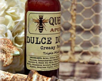 Dulce de Leche Face Wash - Triple Milk Gentle Cleanser - 2 Ounces
