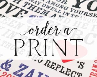 "Custom 8""x10"" Art Print"