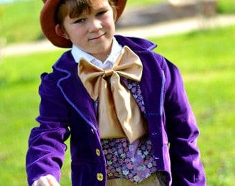 Willy Wonka Costume - Charlie and the Chocolate Factory costume