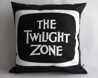 The Twilight Zone serie tv Cushion cover 16x16 inches 40x40 cm