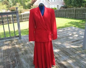 Vintage Howard Wolf suit Size 12