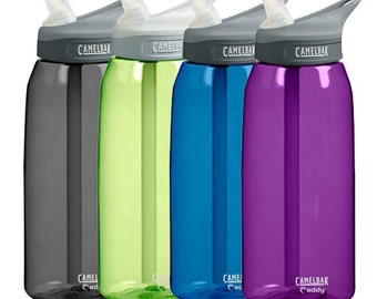Monogrammed .6L, .75L or 1L Super FAST Nurse NONINSULATED Camelbak EDDY personalized waterbottles