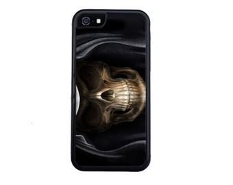 Dark Grim Reaper Case Design For iPhone 4/4s, 5/5s, 5c, 6/6s, 6/6s Plus, 7 or 7 Plus.