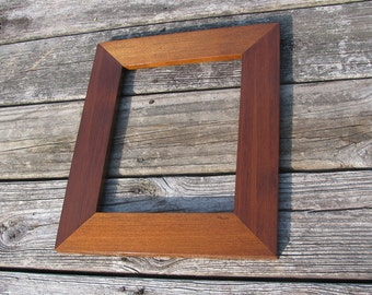 "Redwood Clear Heartwood Picture Frame 8""x10"" Wide"