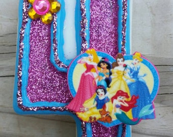 Princess Birthday Candle
