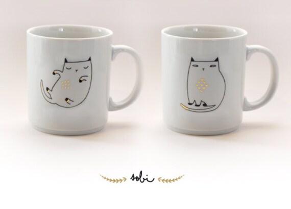 Mug Chat gold