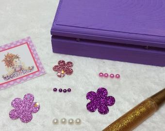 PARTY PACK Fancy Nancy Jewelry Box Craft Kit