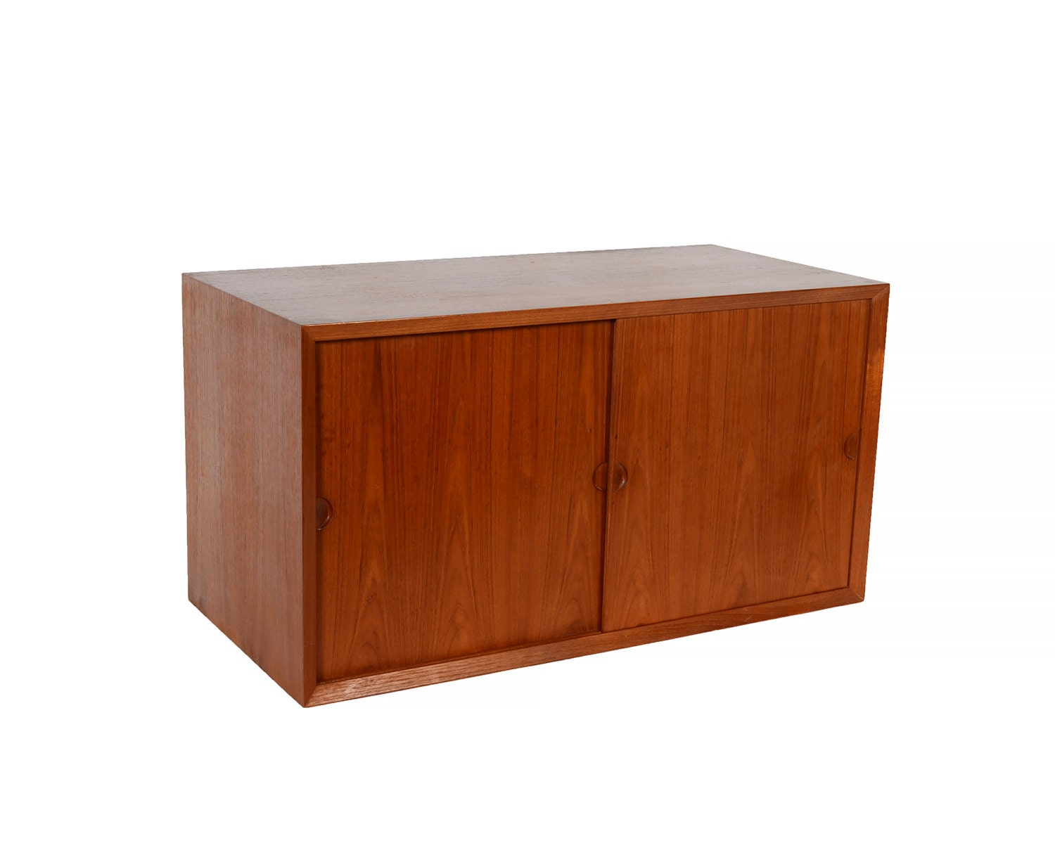 Cado unit teak cabinet danish modern by hearthsidehome on etsy for Modern teak kitchen cabinets