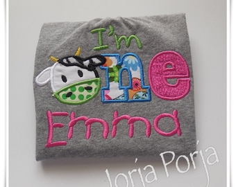 Birthday cow shirt