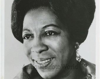 Black opera singer Ella Lee vintage music photo
