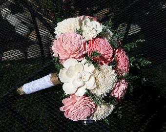 Wedding bouquet, keepsake bouquet, sola bouquet, alternative bouquet