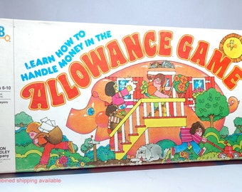 The Allowance Game from Milton Bradley 1979 COMPLETE (read description)