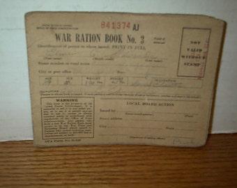 WW II Raton Book # 2