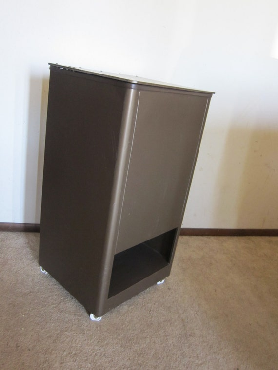 Items similar to industrial metal filing cabinet with Upcycled metal filing cabinet