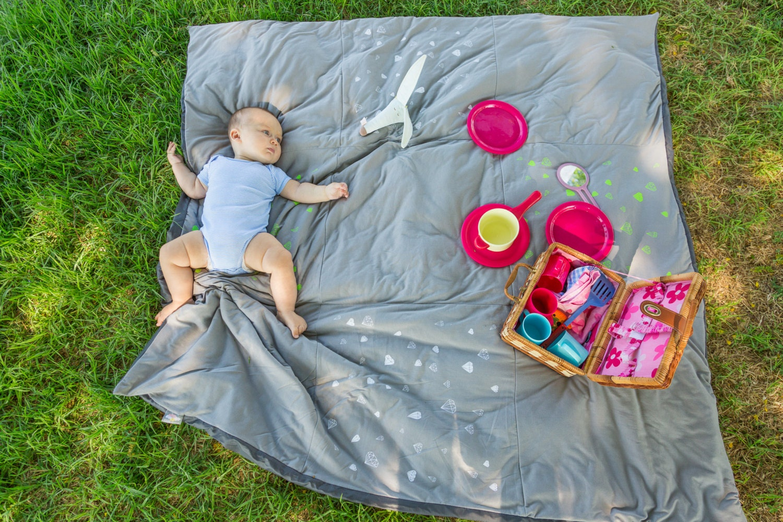 picknick decke strand kindergarten gepolstert spiel matte. Black Bedroom Furniture Sets. Home Design Ideas