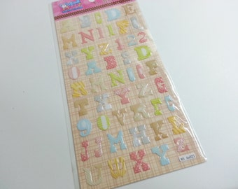 Sales : Colorful Number Sticker  - 1 Sheet