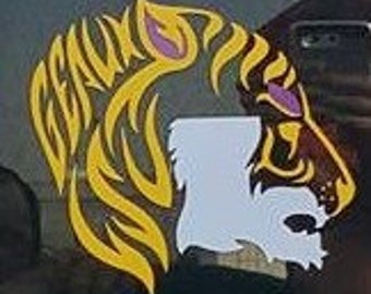 Geaux LSU decal